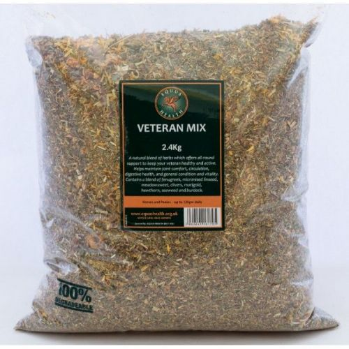 Equus Health  - Veteran Mix - 2.4kg